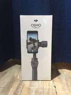 DJI OSMO Mobile 2 雲台 香港行貨 1年保養(100%未開封)