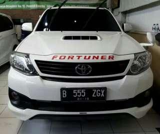 Toyota Fortuner VNT TRD Diesel 2014 FULL Orisinil