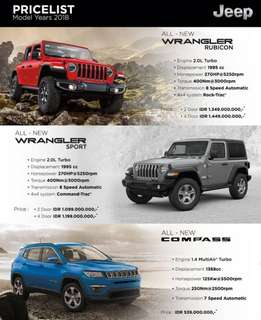 Jeep new 2018