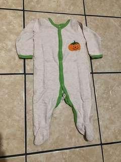 Sleepsuit Pumpkin