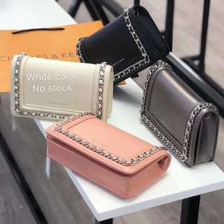 Charles & Keith sling wallet ( with dust bag )