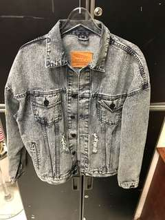 Jacket jeans overwight