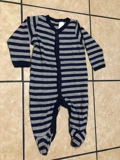 Sleepsuit Stripes