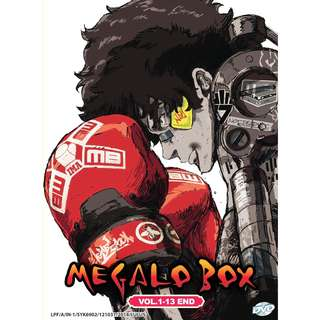 Megalo Box Vol-1-13 End Anime DVD
