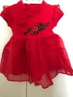 Red TuTu Dress (12-18 months)