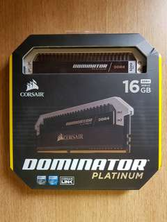 Corsair Dominator Platinum DDR4 16gb 3200MHz