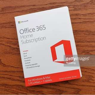 Office 365 and Office 2016 Lifetime - 40 sgd