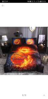 Hot Printed bedding basketball
