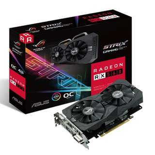 ROG-STRIX-RX560-O4G-EVO-GAMING	ASUS ROG-STRIX-RX560-O4G-EVO-GAMING DUAL FAN (3Y)