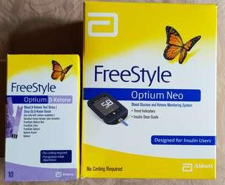 Freestyle Optium Neo - meter and Ketone strips