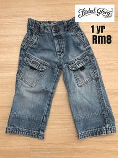 Baby/Toddler jeans(12m/1yr)