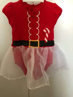 Santarina Christmas TuTu Romper (6-12 months)