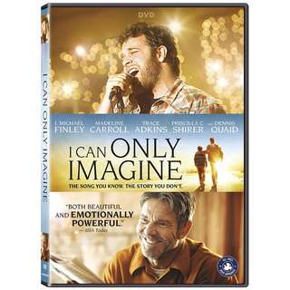BRAND NEW DVD - I CAN ONLY IMAGINE (ORIGINAL USA IMPORT CODE 1)