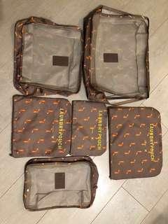 旅行收納袋六件裝 Travel bags 6 pcs