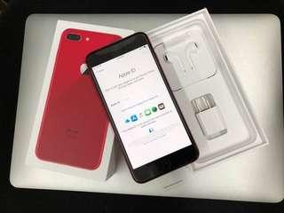 Unlocked iPhone 8+ red 256gb