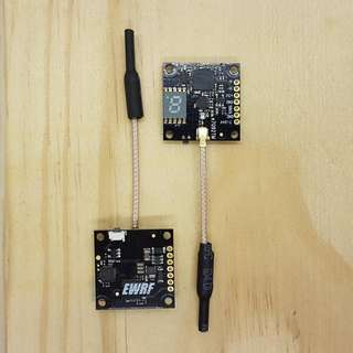 EWRF E7092TM (UWA) 5.8G 48CH 0/25/100/200MW FPV MINI VTX WITH OSD & SMART AUDIO COMPATIBILITY SUPPORT