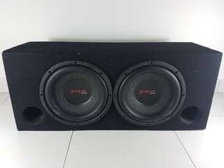 "Steam Audio Two 10"" Woofer"
