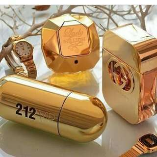 One million , gucci , 212 gold paket 3in1