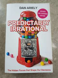 🚚 Predictably Irrational by Dan Ariely
