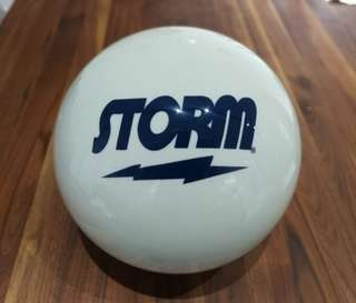 Undrilled Storm White Spare Ball (available in 14lb & 15lb) - Brand New in Box