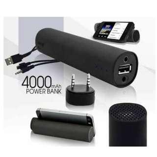 3 in 1 Power Jam Powerbank Speaker CP Stands