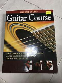 Step by step guitar course