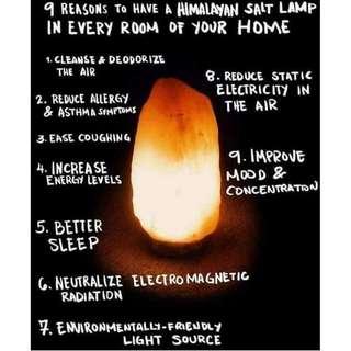 Authentic Himalayan Salt Lamp