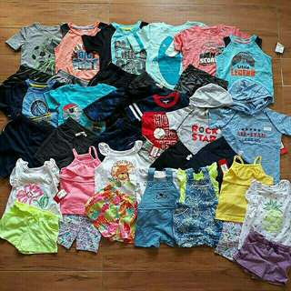 Baju anak murah  1set bkn smua size 12-4thn harga tidak termasuk ongkir