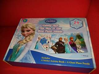 Preloved Frozen Giant Puzzles