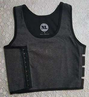 Half chest binder(Grey)