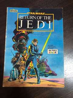 Starwars Return Of The Jedi (Oct 1983)