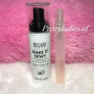 Milani Make It Dewy Setting Spray Hydrate + Illuminate + Set Share in Spray