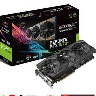 STRIX-GTX1070TI-A8G-GAMING	ASUS ROG STRIX-GTX1070TI-A8G GAMING TRIPLE FAN(3Y)