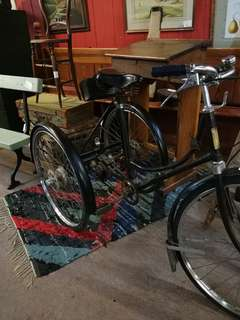 Antique bicycle/tricycle