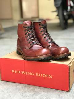 Redwing 9011 Bechman red cerry made usa
