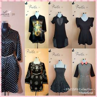 KPoP Dresses, Blouses, Denims, Tops, Office Attires