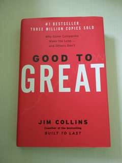 Good to Great Jim Collins