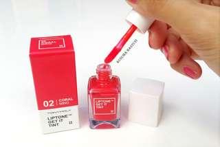 Tonymoly Liptone Get it Tint (Liptint) #02 Coral Ming