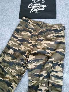 CCI camouflage cargo pants