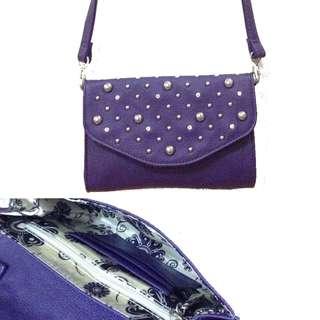 New:U.S purple sling bag