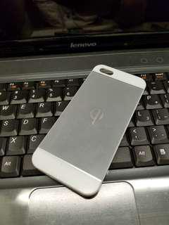 IPhone 5/5s無線接收充電保護殼