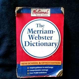 Meriam Webster Dictionary