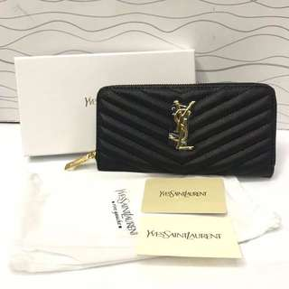 Brandnew! Authentic Yves Saint Laurent Wallet p
