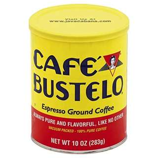 Café Bustelo Espresso Ground Coffee Can 10oz 283g