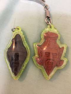 Thailand old amulet (1 pair)
