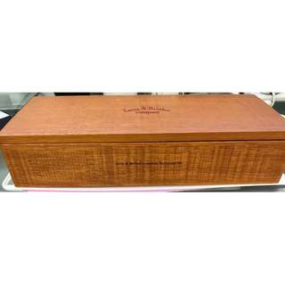 WOODEN BOX - LARUS & BROTHER COMPANY