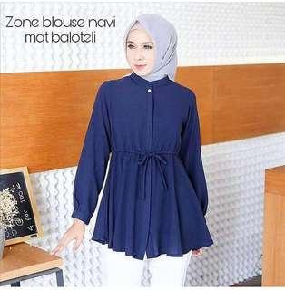Zone blouse