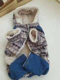 🚚 中型犬保暖絨毛衣
