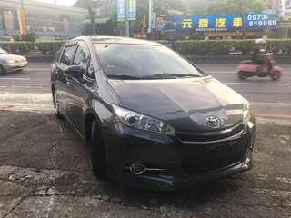 瑋哥車坊 正2011年 Toyota Wish 雲河灰 改13大包 外型超加分 實車實價只要29.8萬 一手車 非自售