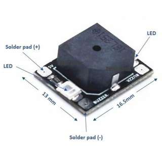 5V ALARM BUZZER WITH LED LIGHTS